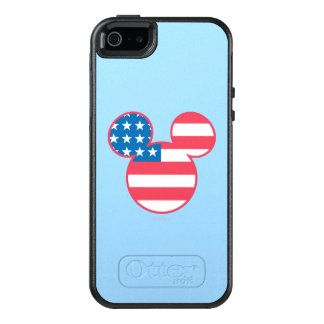 Holiday Mickey | Mouse Head Flag Icon OtterBox iPhone 5/5s/SE Case