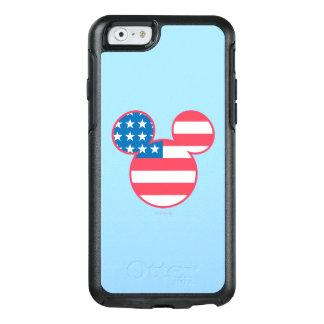 Holiday Mickey | Mouse Head Flag Icon OtterBox iPhone 6/6s Case
