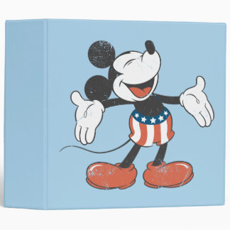 Holiday Mickey | Patriotic Singing Binder