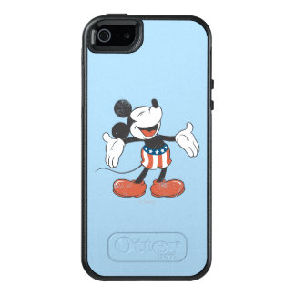 Holiday Mickey | Patriotic Singing OtterBox iPhone 5/5s/SE Case