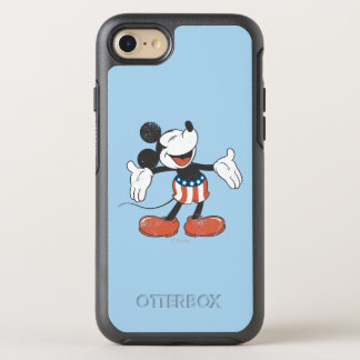 Holiday Mickey   Patriotic Singing OtterBox Symmetry iPhone 8/7 Case