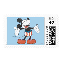 Holiday Mickey | Patriotic Singing Postage