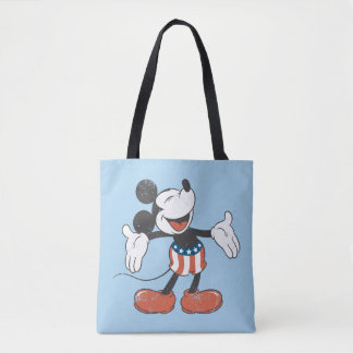 Holiday Mickey | Patriotic Singing Tote Bag