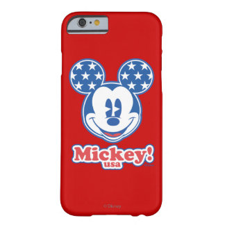 Holiday Mickey | Patriotic Stars Barely There iPhone 6 Case
