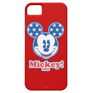 Holiday Mickey | Patriotic Stars iPhone SE/5/5s Case
