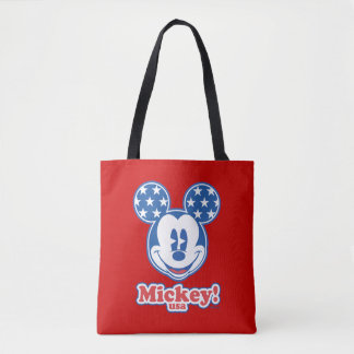 Holiday Mickey | Patriotic Stars Tote Bag