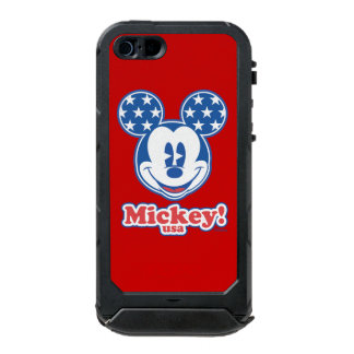 Holiday Mickey | Patriotic Stars Waterproof iPhone SE/5/5s Case