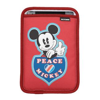 Holiday Mickey | Peace Love iPad Mini Sleeves
