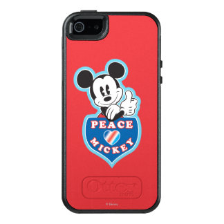 Holiday Mickey | Peace Love OtterBox iPhone 5/5s/SE Case