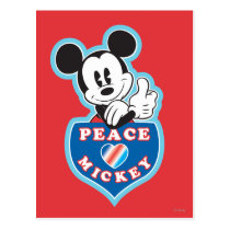 Holiday Mickey | Peace Love Postcard