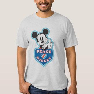 Holiday Mickey | Peace Love T Shirt