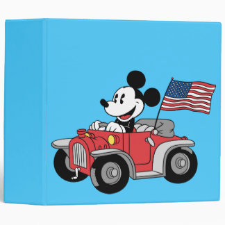 Holiday Mickey | Red Convertible Binder