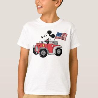 Holiday Mickey | Red Convertible T-Shirt