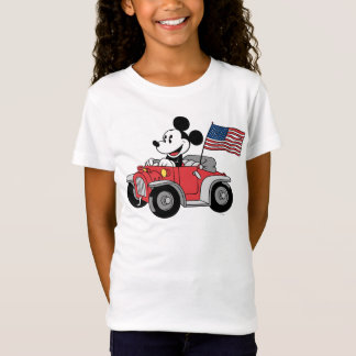 Holiday Mickey   Red Convertible T-Shirt