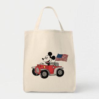 Holiday Mickey | Red Convertible Tote Bag