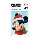 Holiday Minnie Postage Stamp