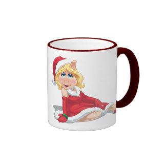 Holiday Miss Piggy 2 Ringer Coffee Mug
