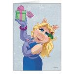 Holiday Miss Piggy Card