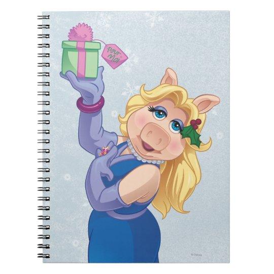 Holiday Miss Piggy Notebook