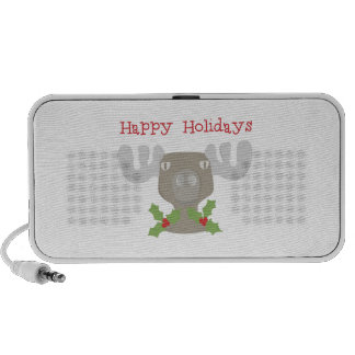 Holiday Moose Portable Speakers