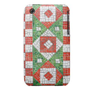 Holiday Mosaic iphone 3G/3GS Barely There Case