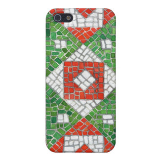 Holiday Mosaic iPhone SE/5/5s Cover