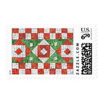 Holiday Mosaic Postage