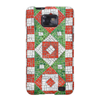 Holiday Mosaic Samsung Galaxy Barely There Case Galaxy S2 Covers