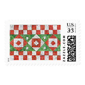 Holiday Mosaic Stamps - Postcard, .29