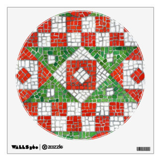mosaic wall decals amp wall stickers zazzle party wall decal holiday wall decals cuma wall decals