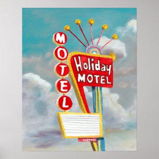 Holiday Motel Sign