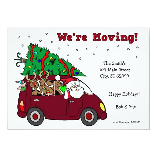We Ve Moved Christmas Cards