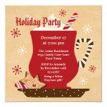 Holiday Mug Party Invitation