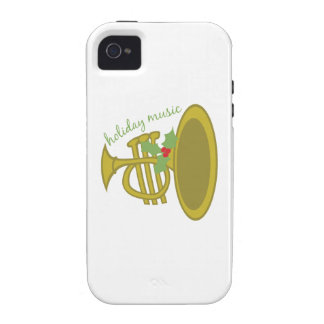 Holiday Music Case-Mate iPhone 4 Covers