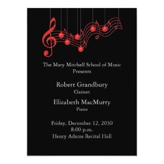 Holiday Musical Recital Program