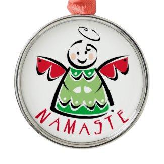 Namaste Angel  ornament