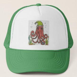 Holidayoctopus Trucker Hat