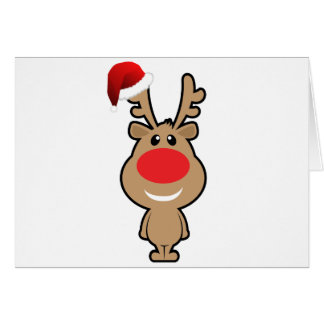 Holiday of funny christmas santa card for Funny reindeer christmas cards