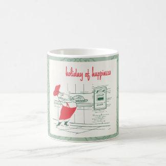 Holiday of happiness coffee mug