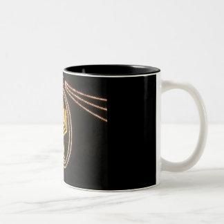 Holiday of Lights Two-Tone Coffee Mug