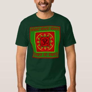 Holiday Om Shanti Peace Top Tshirts