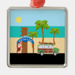 Holiday on the Beach Christmas Ornaments