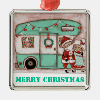 Holiday on Wheels - Premium Ornament