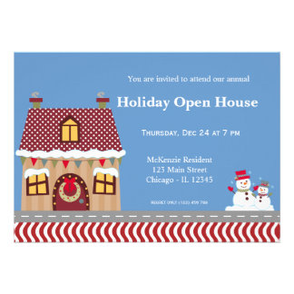 Holiday Open House Announcements