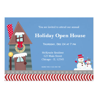 Holiday Open House Card