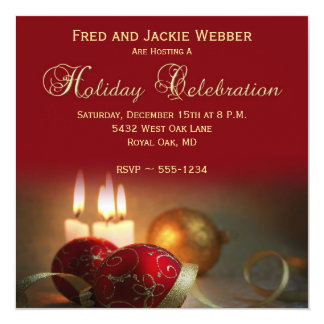 Holiday or Christmas Party Invitations