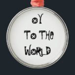 "HOLIDAY ORNAMENT OY TO THE WORLD<br><div class=""desc"">GIVE THIS OY TO THE WORLD ORNAMENT FOR ALL TO ENJOY ON HANUKKAH AND CHRISTMAS AND ALL YEAR LONG.</div>"