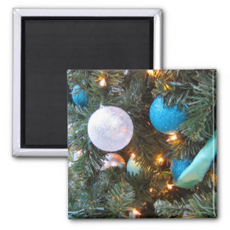 Holiday Ornaments 2 Inch Square Magnet