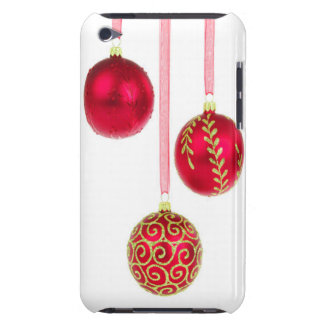 Holiday Ornaments Barely There iPod Cover