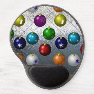 Holiday Ornaments Gel Mousepad